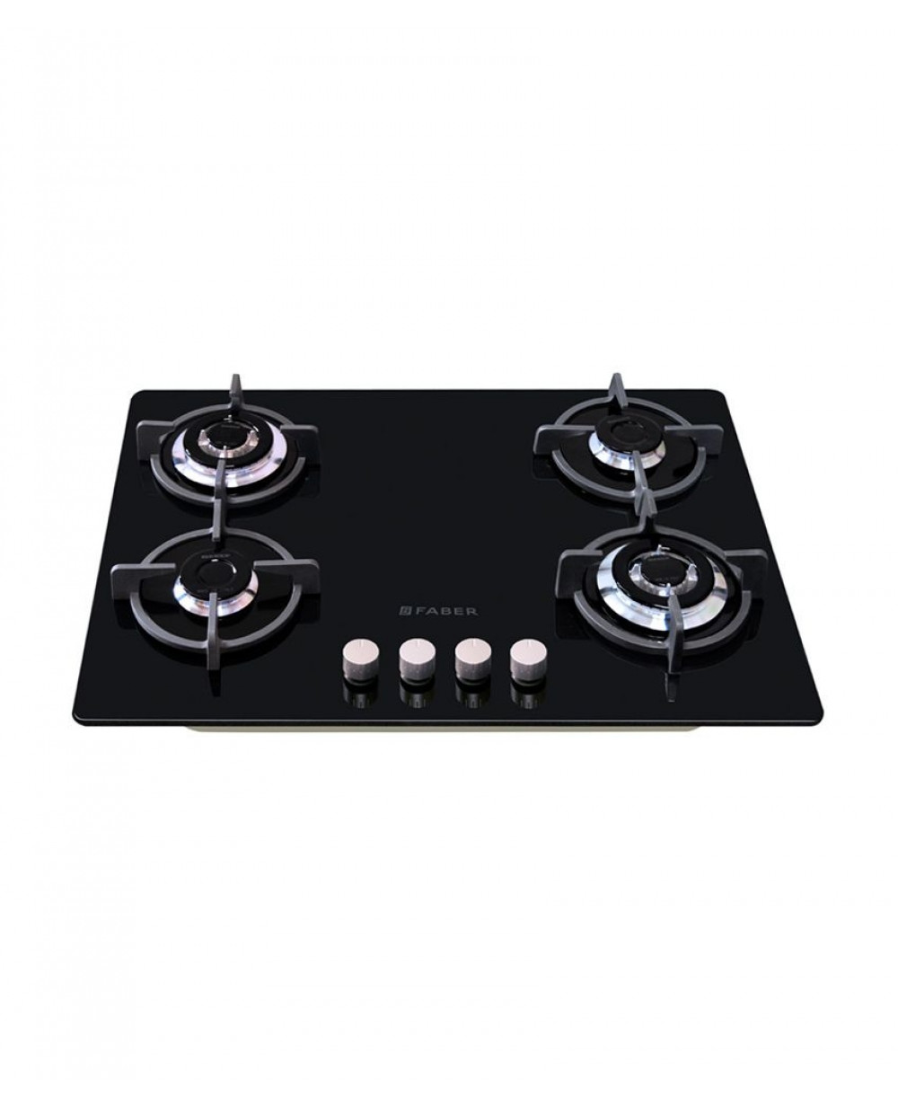 Faber GB 40 MT BO 4 Burner Glass Built in Hob