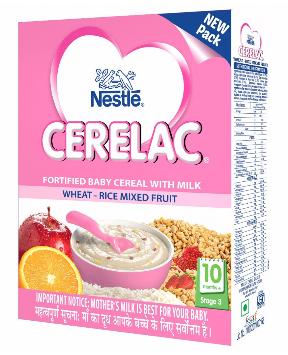 Nestle Cerelac Stage 3 Fortified Baby Cereal With Milk