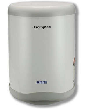 Crompton,Gemma 10-Litre Storage Water Heater (White/Grey-SWH10)