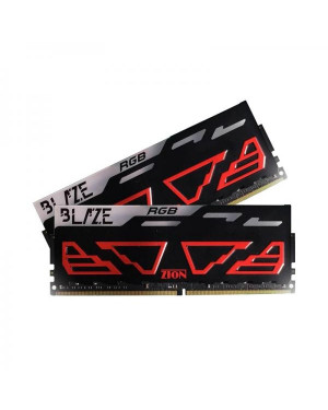 Zion Blaze RGB 16GB Twin Pack Of 8GB X 2 DDR4 PC3000 OC UB DIMM