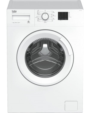 Beko Front-Loading Washing Machine, 5 kg, 1000RPM,White ,LCD - WTE 5511 BW