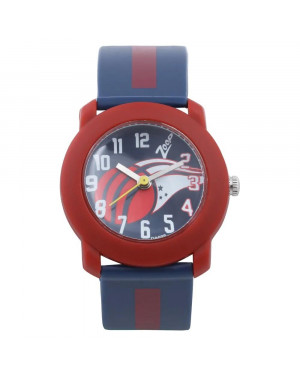 Titan Blue Dial Blue Plastic Strap Watch For Boys C3025PP16