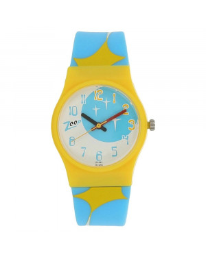 Titan Space Age Multicoloured Dial Plastic Strap For Girls C3028PP10