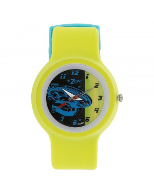Titan Space Age Multicoloured Dial Plastic Strap For Boys C3029PP08