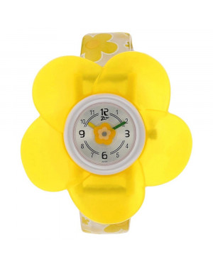 Titan Silver Dial Plastic Strap Watch For Kids C4004PP01