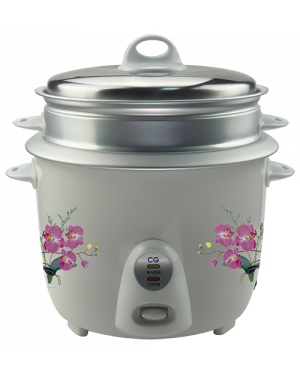 CG Rice Cooker With MO:MO Pot RC18N4S - 1.8ltr