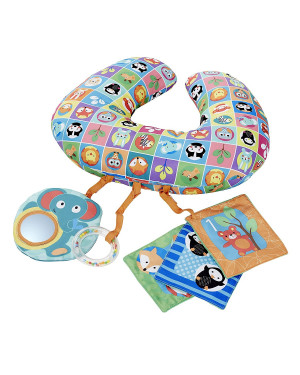 Chicco Toy Move And Grow Animal Tummy Time Pillow