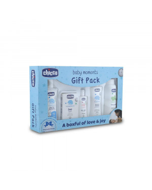 Chicco First Cuddle Set Blue