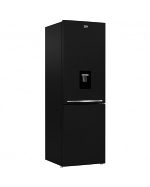 Beko CXFG1685DB Frost Free Freestanding Fridge Freezer With Water Dispenser - Black(365 L)