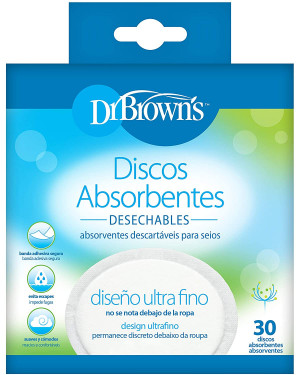 Dr Brown's S4022-INTL Oval Disposable Breast Pads 30 Pcs