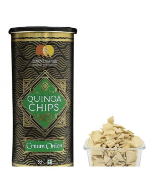 Essential Living Quinoa Chips Cream Onion-55g