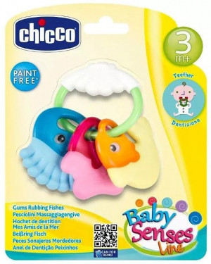 Chicco Gums Rubbing Fishes