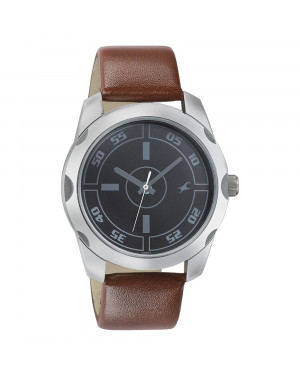 Fastrack Casual Analog Black Dial Men's Watch 3123SL03