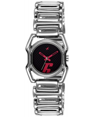 Fastrack Silver Dial Analogue Watch for Women 6100SM02