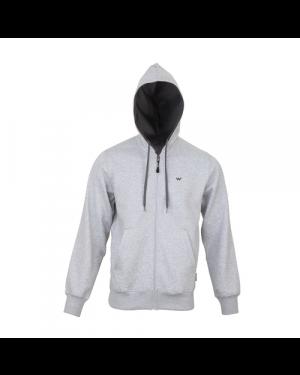 Wildcraft Men's Zippered Hoodie Sweatshirt for Winter