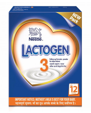 Nestle Lactogen 3 Follow-up Formula Powder for Older Infant