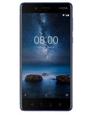 Nokia 8 With 4GB RAM & 64GB ROM Polished Blue