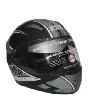 Studds Shifter Full Face Black/Grey Helmet 600mm