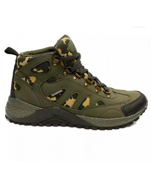 Goldstar G10 G401 Camo Lifestyle Boots For Men - (Olive)