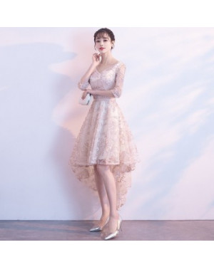 Chic Elegant Pink Slim Party Dress Formal Gown 41000236