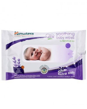 Himalaya Soothing Baby Wipes 24 Pieces
