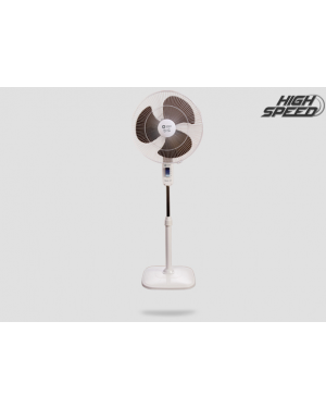 Orient 16-Inch Stand 37 Standing Fan White