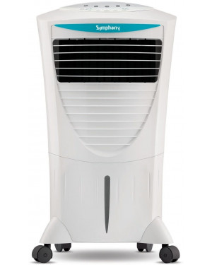 Symphony Hicool i 31-Liters Air Cooler (White) - with Remote Control