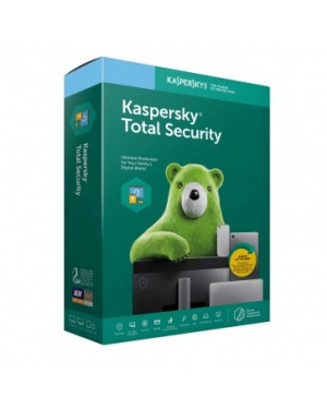 Kaspersky Total Security 2019 (1 PC/ 1 Year)