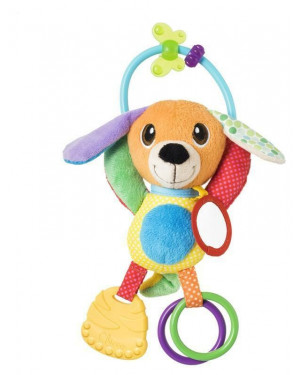 Chicco Baby Senses Clutching Toy Mr Puppy