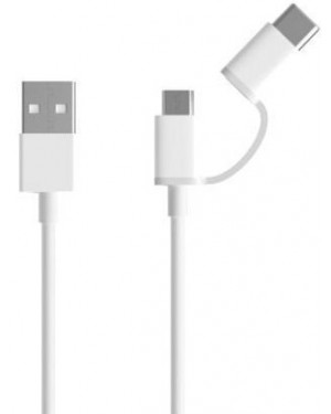 Xiaomi Mi 2 in 1 Type-C and Micro USB Cable 30cm