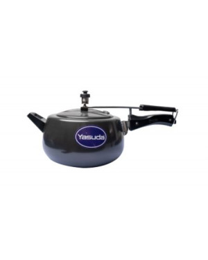 Yasuda Hard Anodized With IB Pressure Cooker 3 Litre YAS2593