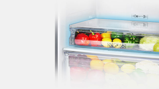 Keep Small Produce In The Crisper Drawer. This 2nd Vegetable Box Along With  Moist Fresh Zone Allows You To Store Separate Easily Perishable, Soft  Texture ...